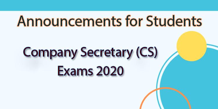 ICSI-CS Result - Cutoff, Answer Key...