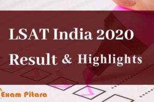 LSAT India Examination 2020
