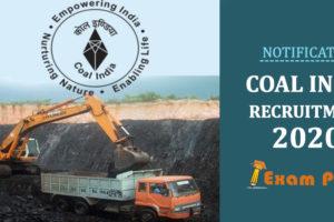coal india recruitment 2020 banner