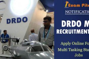 drdo mts recruitment 2020 jobs banner