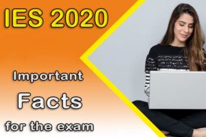 IES 2020 Examination Result Admit card
