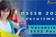 DSSSB Recruitment 2020