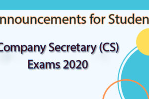 ICSI-CS Result - Cutoff, Answer Key...