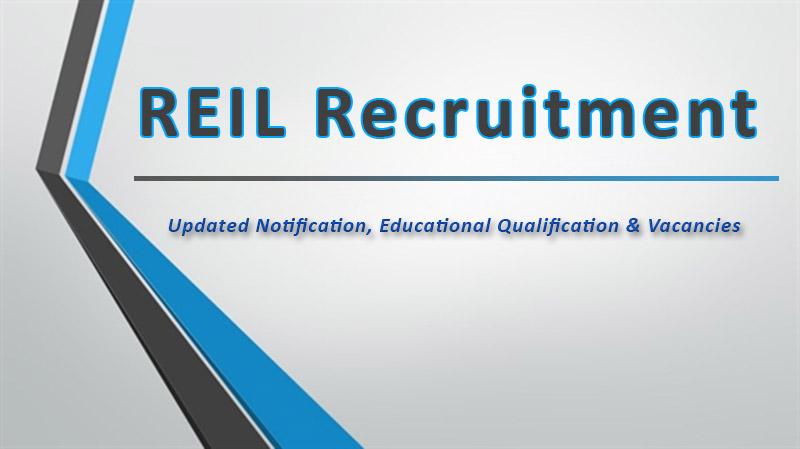 REIL EXAM- Last Date Answer Key Info for Eligibility, Syllabus, Pattern