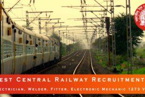 West Central Railway Recruitment 2020