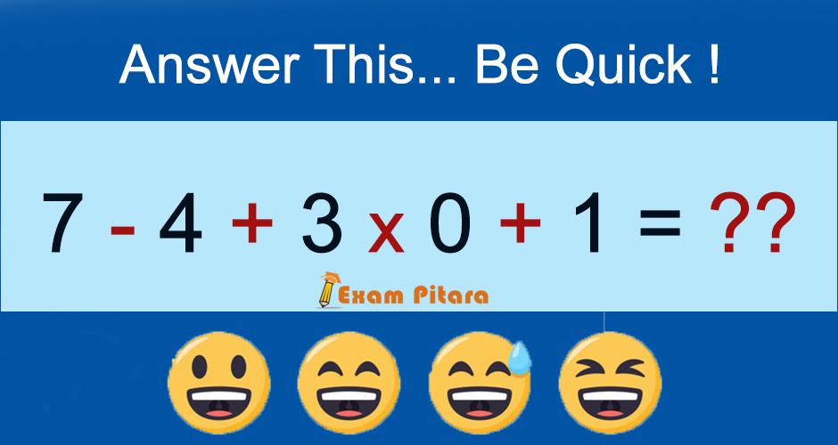 Math Logical Reasoning Puzzle