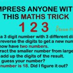 Math magic Trick Puzzle