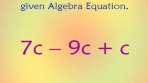 Math Algebra Puzzle