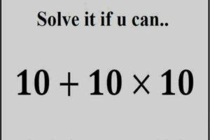 Bodmas Math Puzzle