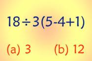 Math Bodmas Puzzle