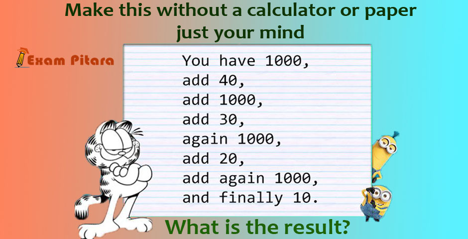 Tricky Addition Maths Puzzle