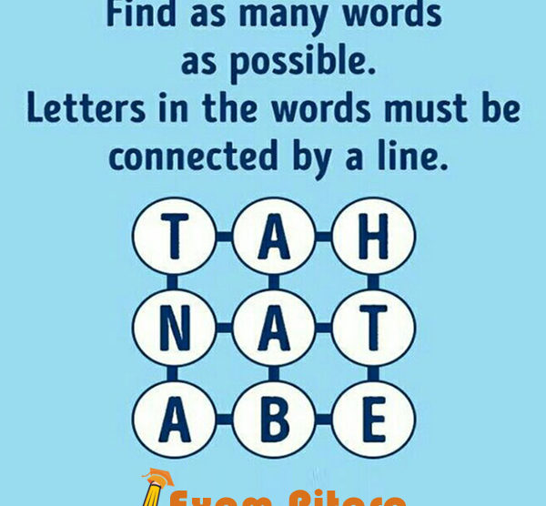 Brain Teaser Word Puzzle