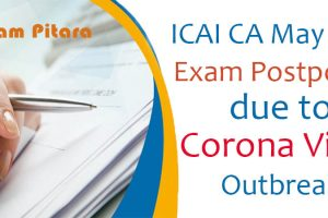 Rescheduled Dates for ICAI CA Exam 2020
