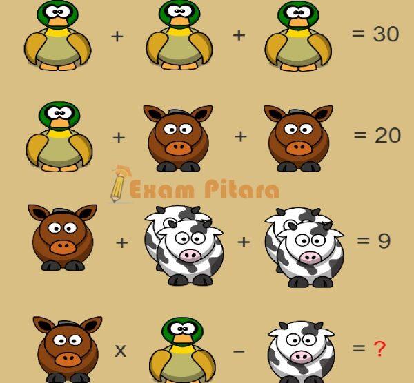 Math Puzzle Brain Teaser